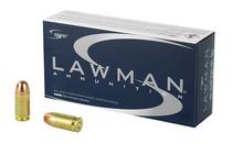 SPEER Lawman Training 45 ACP 230 Grain Total Metal Jacket 50 Round Box of Centerfire Ammunition (53653)