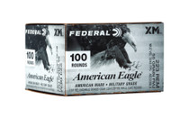 FEDERAL American Eagle .223 Rem 55Gr 100 Round Box of Full Metal Jacket Rifle Ammunition (AE223BLX)