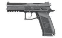"CZ P-09 9mm 4.54"" Barrel 19Rd Full Size Polymer Frame Ambidextrous Safety/Decocker Semi-Automatic Pistol (91620)"