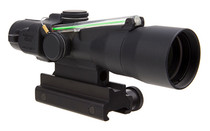 TRIJICON ACOG 3x30 Dual Illuminated Green Chevron 223REM/62Gr Ballistic Reticle Compact Riflescope with Colt Knob Thumbscrew Mount (TA33-C-400127)