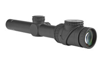 TRIJICON AccuPoint 1-6x24mm 30mm Tube Red Triangle Post Reticle Capped Adjusters Riflescope (719307401662)