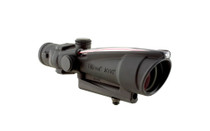 TRIJICON ACOG 3.5x35 Illuminated Red Circle Chevron Reticle Riflescope with Carry Handle Mount (TA11B)