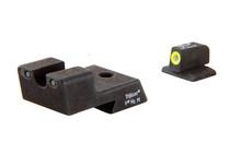 TRIJICON HD Yellow Outline Tritium Night Sight Set Fits Colt 1911 (CA128-Y-600529)