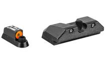 TRIJICON HD Orange Outline Tritium Night Sight Set Fits CZ P10/10C (CZ104-C-601094)