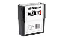 BARRETT 416 Barrett 452Gr 3050Fps 10Rd Box of Boat Tail Hollow Point Ammunition (17222)