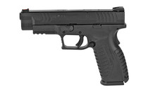 SPRINGFIELD ARMORY XDM 9MM 4.5in Barrel 19rd Mag with Interchangeable Backstrap Grip and Fiber Optic Sight Double Action Only Semi-Auto Pistol (XDM9201HCE)