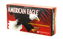 FEDERAL American Eagle 40S&W 180 Grain 50rd Box of Full Metal Jacket Pistol Ammunition (AE40R1)