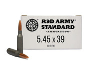 CENTURY ARMS Red Army Standard 5.45x39 60Gr 20Rd Box of Full Metal Jacket Ammunition (AM3372)