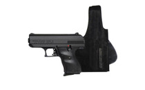 """HI-POINT C-9 9mm 3.5"""" Barrel 8Rd Mag Polymer Frame Striker Fired Semi-Automatic Pistol with Galco Leather Holster (916G)"""