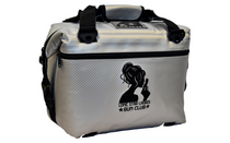 LONE STAR LADIES 14in L x 7in W x 12 in Carbon Silver 12 Pack Cooler (LSL12PACKCOOLER)