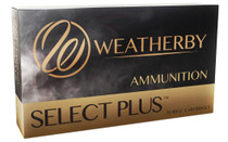 WEATHERBY Select Plus 30-378 Wby Mag 165 Grain 20rd Box of Barnes Tipped TSX Lead Fee Center Fire Rifle Ammunition (B303165TTSX)