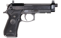 """BERETTA 92FSR 22LR 4.9"""" Threaded Barrel 15Rd Suppressor Height Sights Mock Suppressor Steel Frame Semi-Automatic Pistol (J90A192FSRF19SK)"""