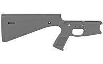 KE ARMS KP-15 Stripped Polymer Lower Receiver with Built-In Fixed Stock (1-61-01-001)