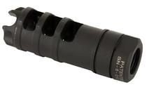 LANTAC USA Dragon 9mm 1/2x28 Thread Pitch Hardened Milspec Steel Muzzle Brake (DGN9MMD)