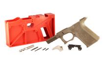 POLYMER80 PF940v2 9mm/40S&W Full Size FDE 80% Pistol Frame Kit (PF940V2-FDE)
