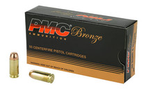 PMC Bronze 40S&W 165Gr 50Rd Box of Full Metal Jacket Ammunition (40D)