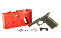 POLYMER80 PF940v2 9mm/40S&W Full Size OD Green 80% Pistol Frame Kit (PF940V2-ODG)