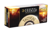 FEDERAL LE Tactical TRU 223 Rem 69 Grain 20rd Box of Boat Tail Hollow Point Rifle Ammunition (T223M)