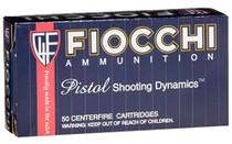 FIOCCHI Training Dynamics 50 Rd Box Full Metal Jacket Pistol Ammo