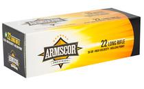 ARMSCOR Rimfire 22LR 36 Grain 50rd Box of High Velocity Hollow Point Rimfire Ammunition (50015H)