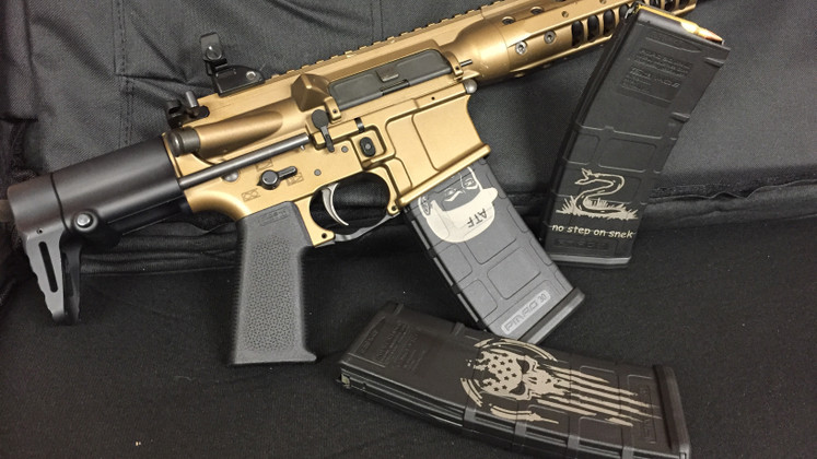 Impress Your Friends at the Range with a Custom PMAG