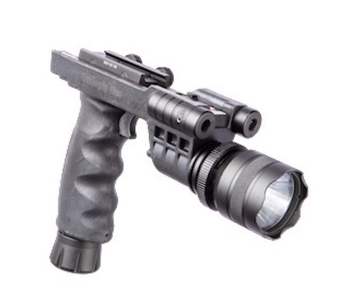 AR Battlegrip Laser Flashlight Combo - Green