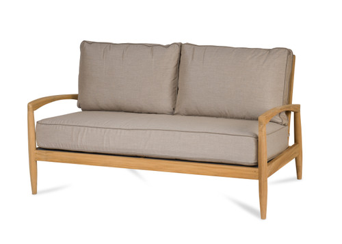 Monica Loveseat with Ash Cushions
