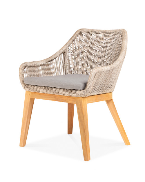 Dalton Dining Chair w/ Pebble Cushion - Set of 2