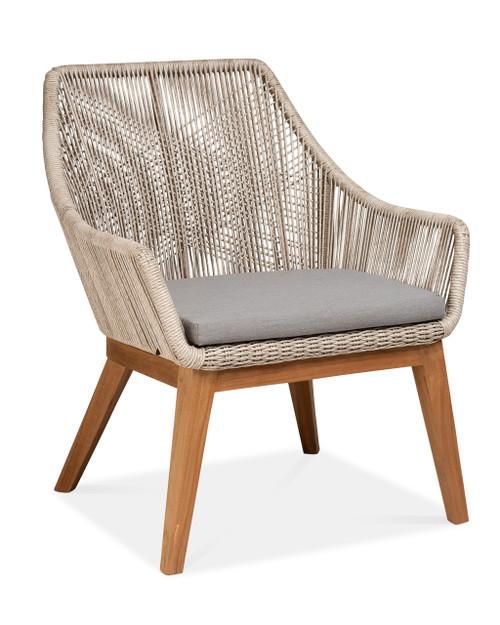 Dalton Club Chair w/ Pebble Cushion