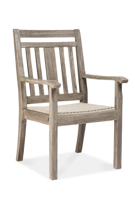 Aspen Dining Arm Chair, Grey
