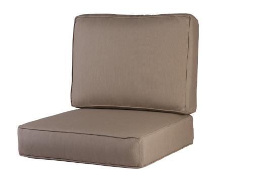 Soho/Jackson/Newport One Seat & Back Cushion Set, Spectrum Mushroom