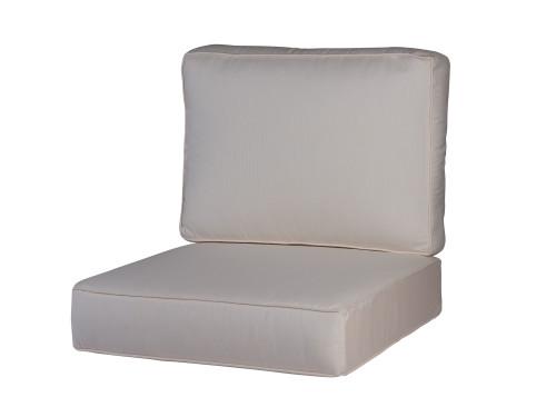 Soho/Jackson/Newport One Seat & Back Cushion Set, Spectrum Eggshell
