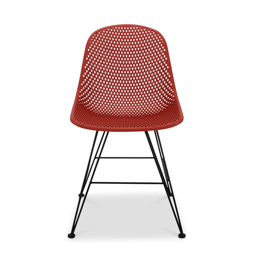 Madi Side Chair, Red - Set of 2
