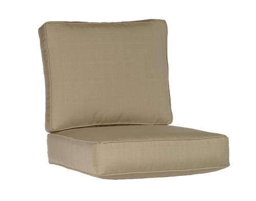 CO9 Design Dover Seat and Back Sunbrella Cushion Set - Quick Ship Champagne