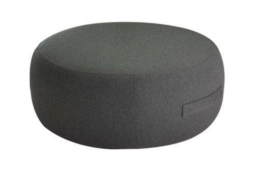 """34"""" Upholstered Coffee Table / Pouf - Graphite"""