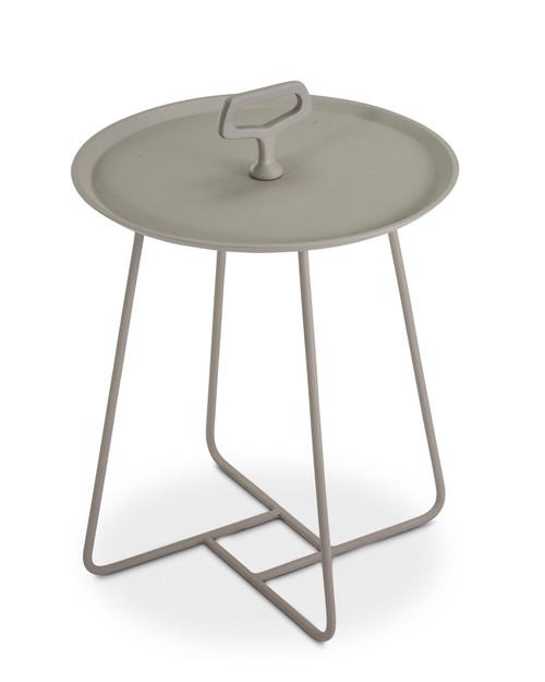 """Bayridge 15"""" End Table - Taupe"""