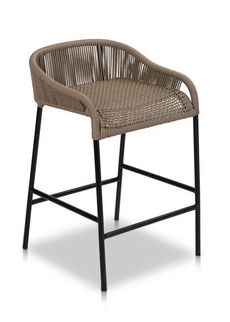 Belmont Counter Stool-Taupe