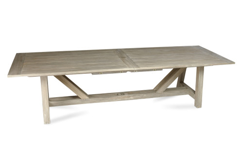 "Lakewood 160"" Extension Dining Table with Trestle Base"
