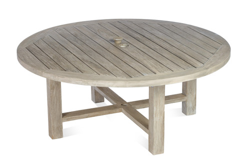 "Lakewood 50"" Round Coffee Table - Grey"