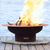 Mercury Fire Pit With Lid