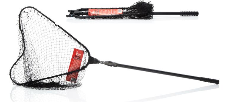 Force Ten Folding Extendable landing net ideal for Boat or Kayak Fishing