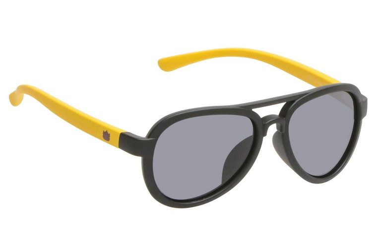 Ugly Fish Polarised Sunglasses PKR 776 Matt Black Frame Smoke Lens