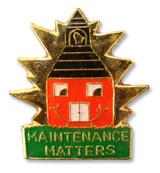 Maintenance Matters Lapel Pin