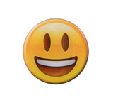 Smile with Teeth Emoji Lapel Pin