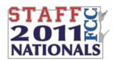 FCC 2011 Nationals Staff Lapel Pin