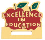 Excellence in Education Badge Holder Lapel Pin