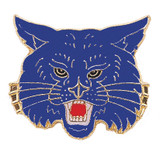 Wildcat/Bobcat (blue) Lapel Pin