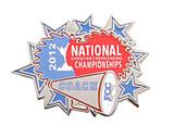 FCC 2012 Nationals Coach Lapel Pin