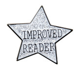Improved Reader Star Lapel Pin