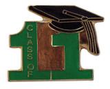 Class of 11' Green Lapel Pin